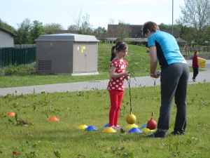 Highland Games at Ben Wyvis Primary School May 14th 2014