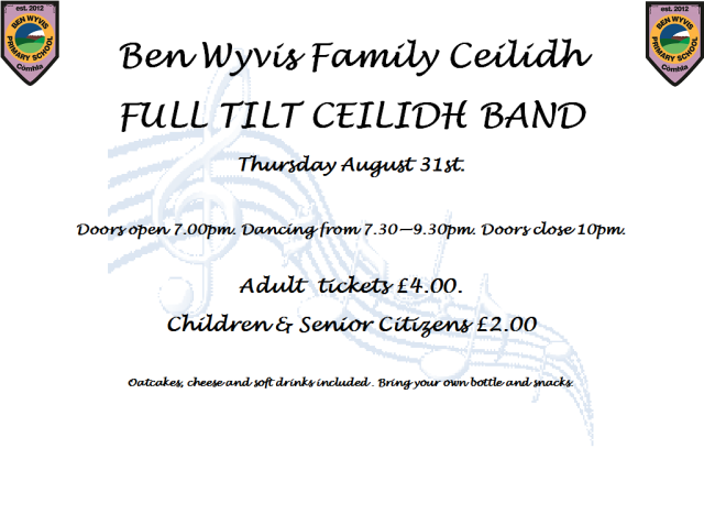 Ceilidh ticket